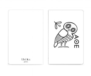 The owl pocket notebook