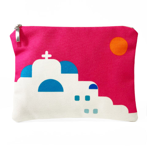 Sunset in Cyclades bag