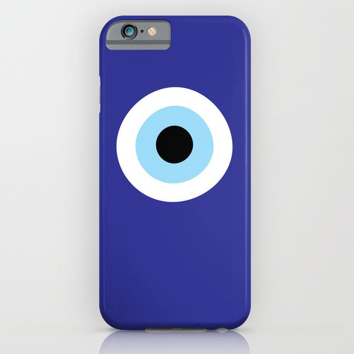 Blue Evil Eye phone case for iPhone 7/8