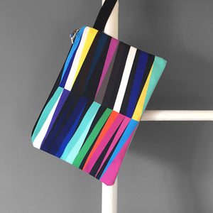 Sunset Stripes Clutch