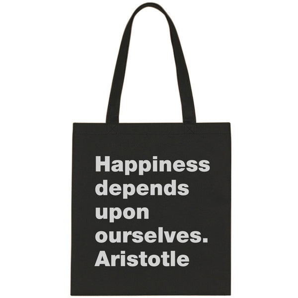 Aristotle canvas tote bag