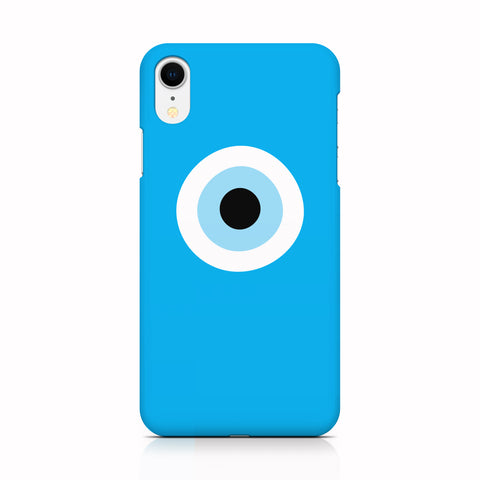 Turquiose Evil Eye phone case for iPhone XR