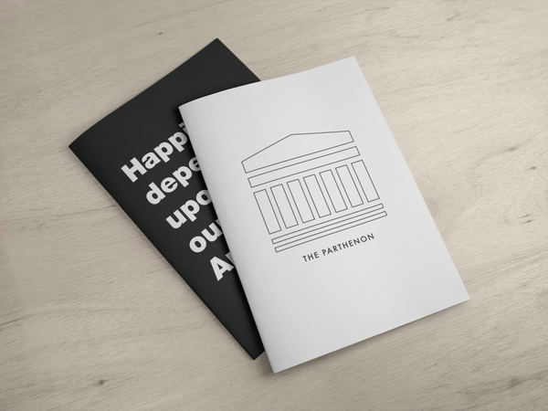 The Parthenon / A5 notebook