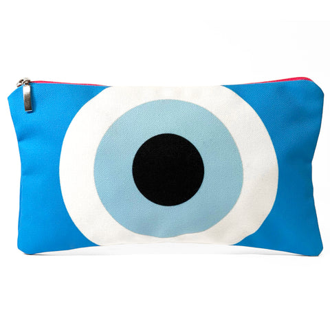 Turquiose Evil eye bag
