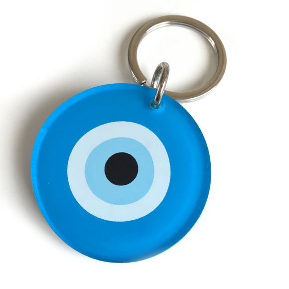 Turquiose Evil Eye Key Ring