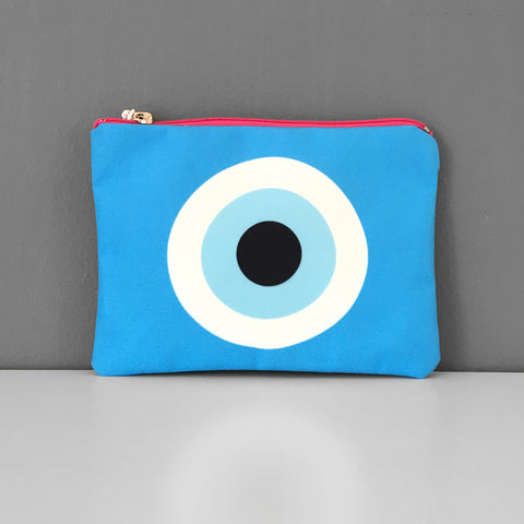 Turquiose Evil Eye coin purse
