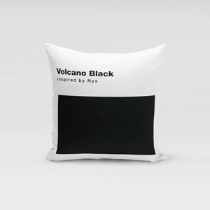 Volcano Black Pillow