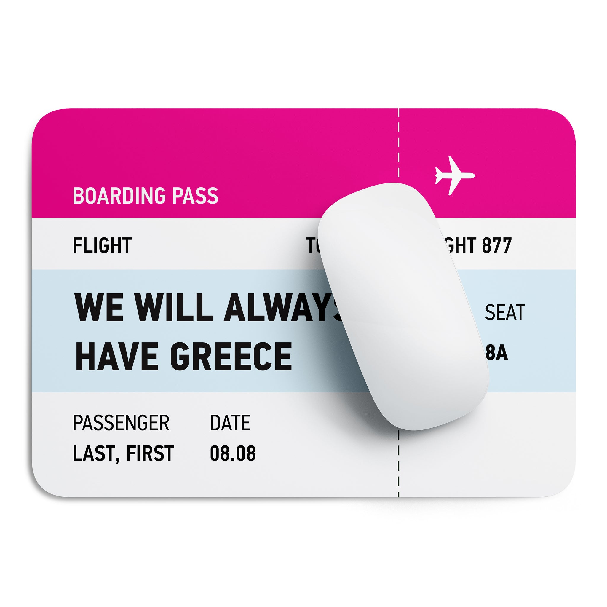 We will always have Greece mouse pad