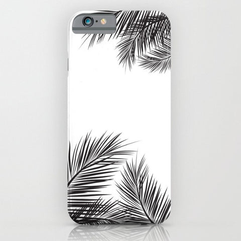 White Summer phone case for iPhone 6/6s