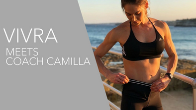 We caught up with 'on-the-go' Coach Camilla