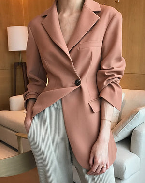 BAILEY TAILORED JACKET -TEA