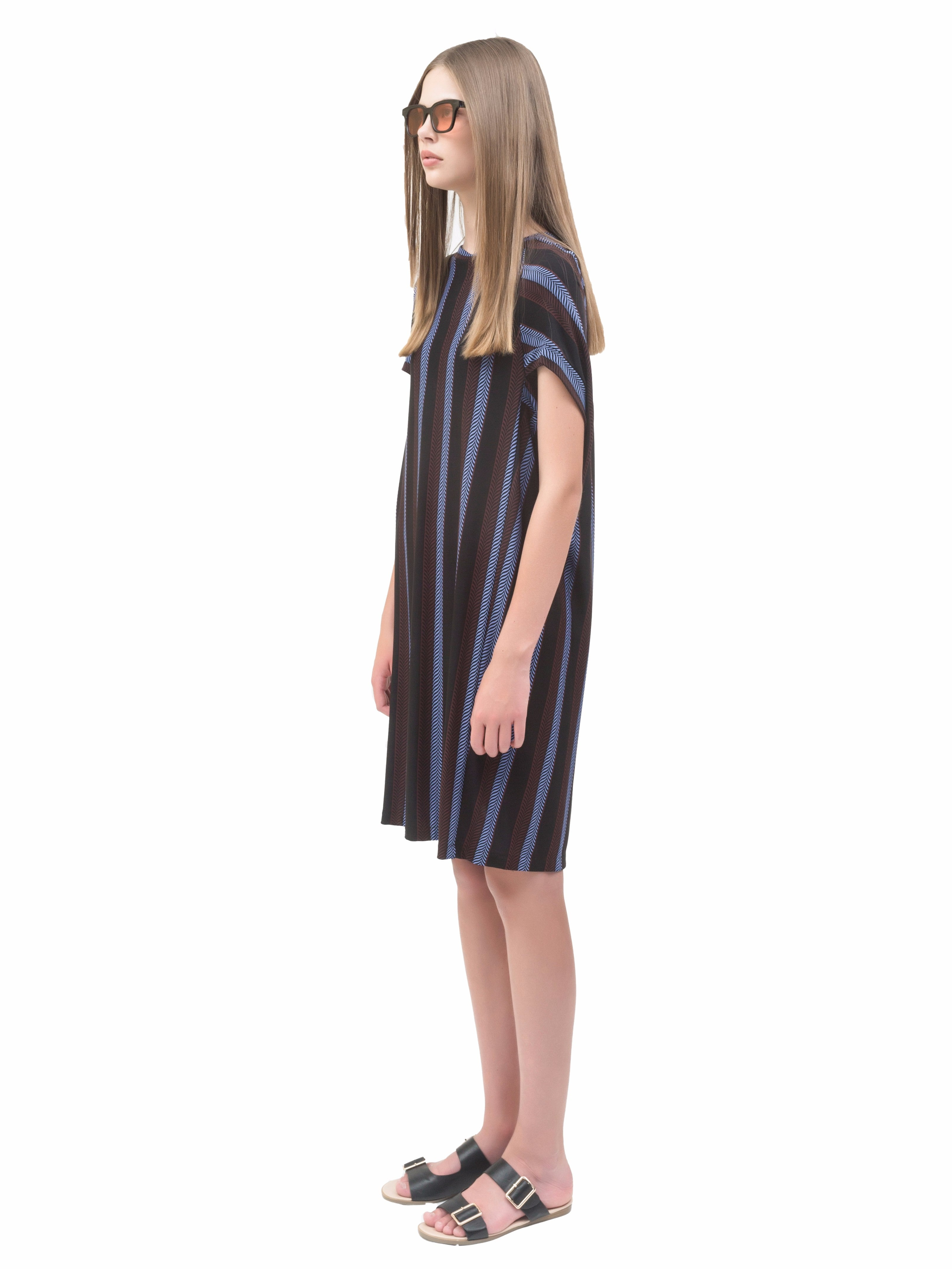Cocoon Short Dress