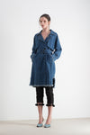 Delphine Denim Trench
