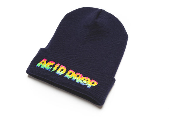 ACID DROP KNIT BEANIE.