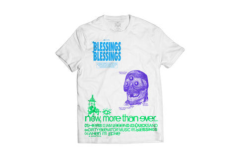 BLESSINGS BLESSINGS T-SHIRT.