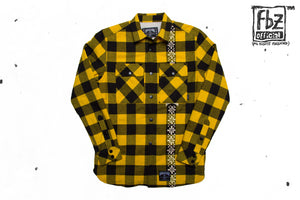 FLANNEL SHACKET YELLOW