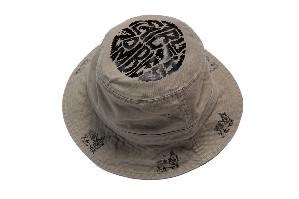 329bff18b81a3 Flatbush Zombies Bushman Bucket Cap in Khaki – The Glorious Dead