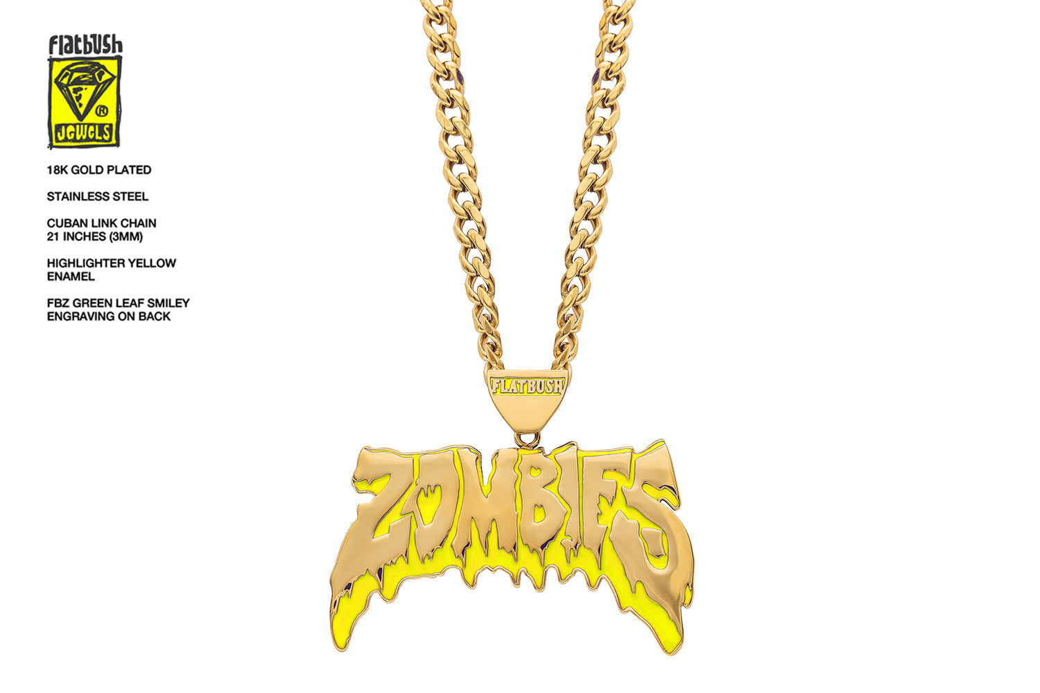 OG Zombies Necklace.
