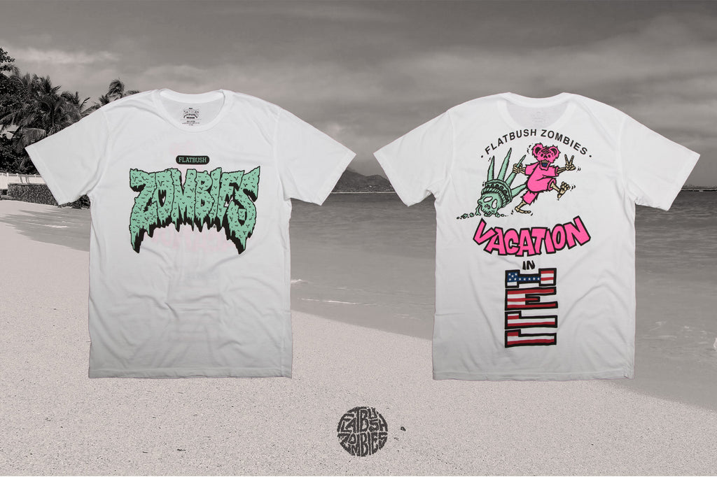 VACATION IN HELL NEW ALBUM T SHIRT BROOKLYN LIMITED RELEASE