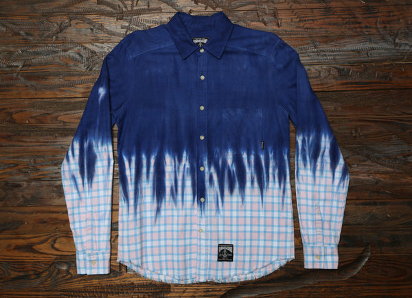 DiP DYED FLANNEL.