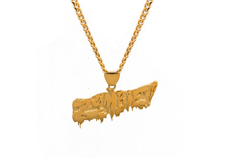ZOMBIE! GOLD CHAIN