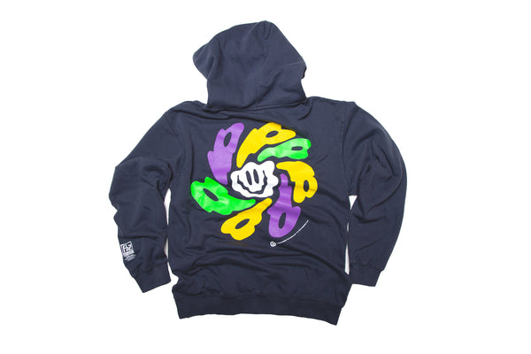 DYED LYSERGIC PULLOVER HOODY