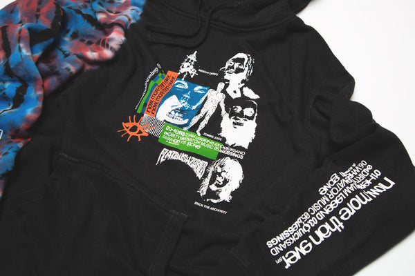 'now more than ever' PULLOVER HOODY.