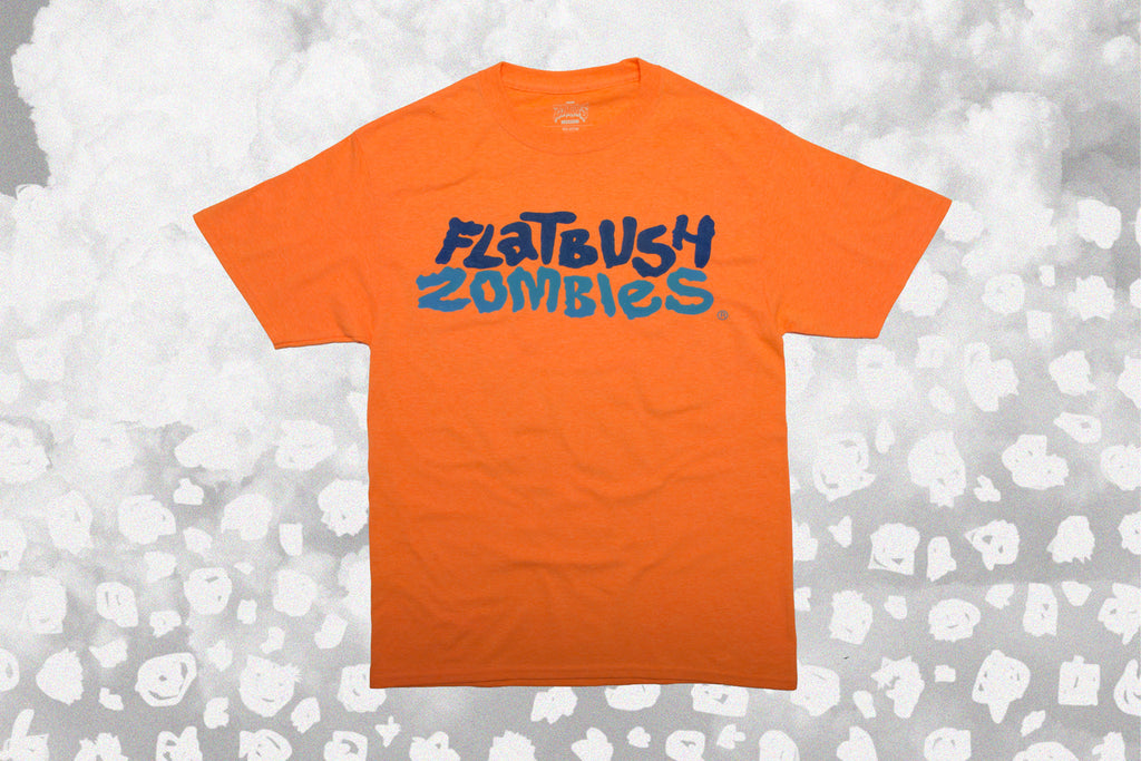 FLATBUSH ZOMBIES ORANGE SHERBERT- SS - T-SHIRT - LIMITED RELEASE ... ebfba711f46e