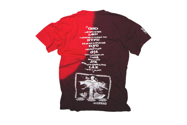 I AM LEGEND SINGLE T-SHIRT.