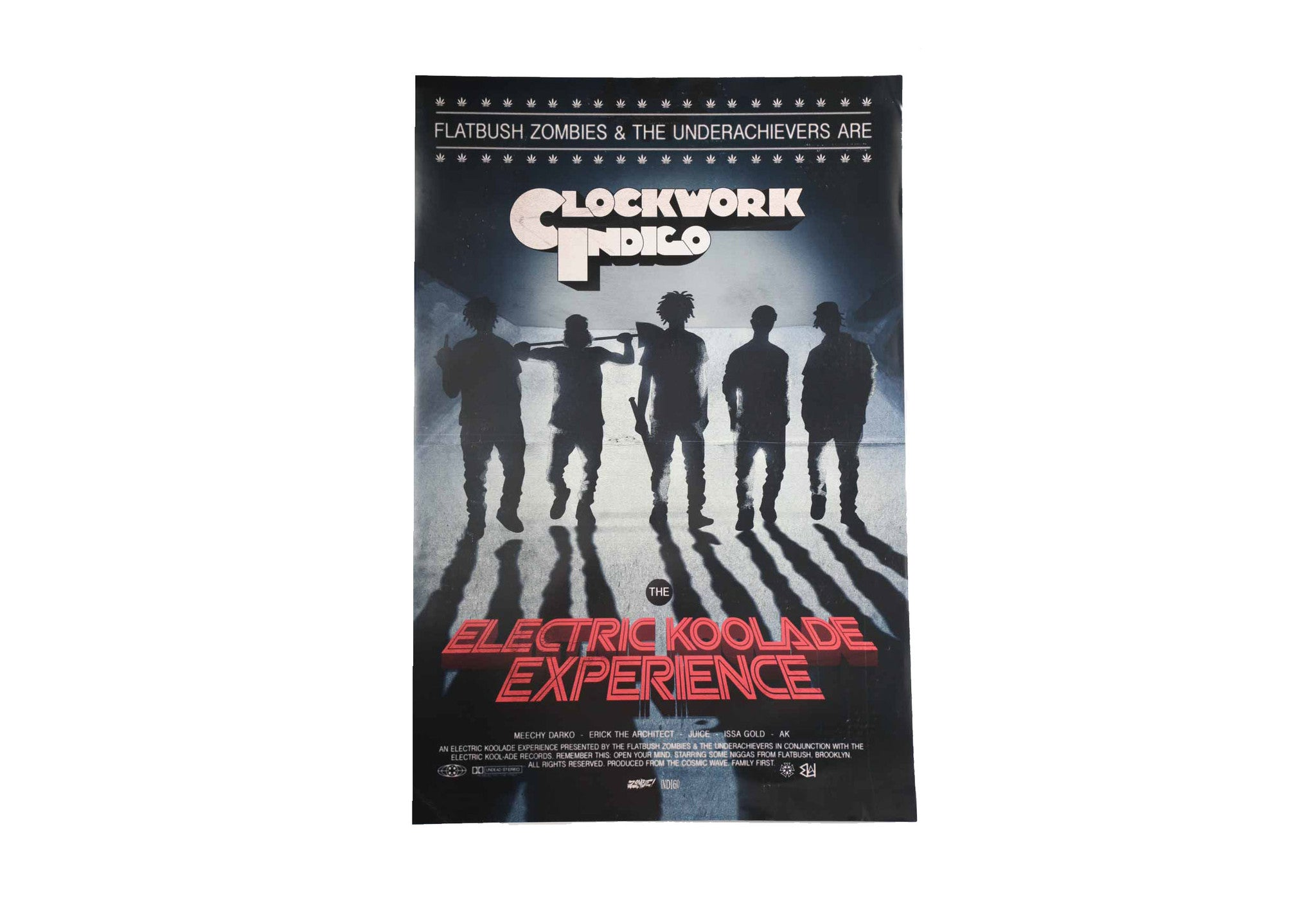 CLOCKWORK INDIGO MOVIE POSTER