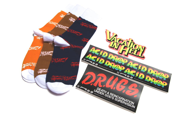 ZOMBIE GANG SOCK PACKAGE