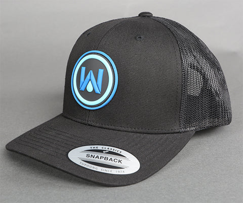 WaterPORT Snapback Cap | Black