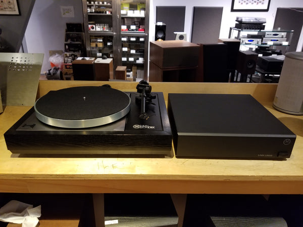 Linn Sondek LP12 Black Ash w/ Linn Ekos Tonearm & Linn Lingo Power Supply - No Cartridge