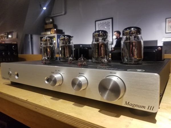 Rogue Audio Cronus Magnum III Tube Integrated Amplifier w/ Accessories - Very Low Use
