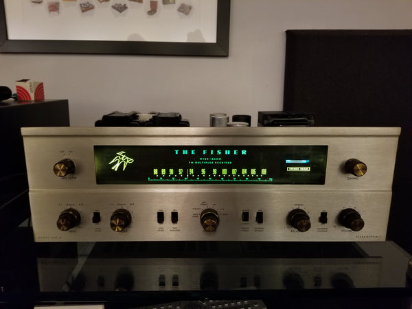 The Fisher 500-b Stereo Tube Receiver - Fully Serviced