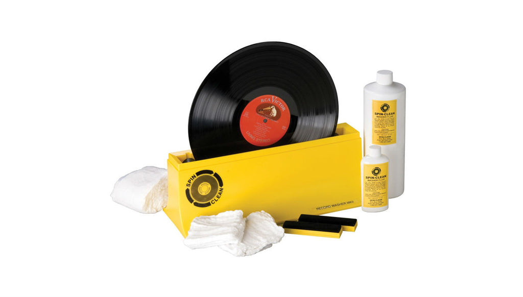 Spin-Clean Complete Record Washer