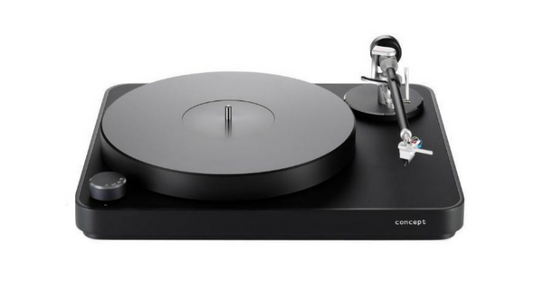 Concept Black Turntable