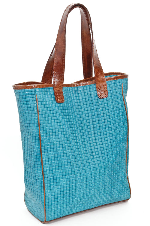 CHANTAL Turquoise Woven
