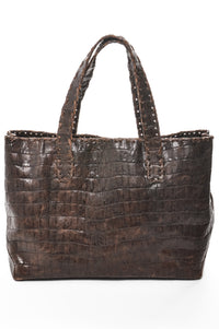 CM440 Brown Croco Print