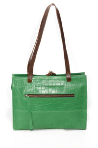 SALINA Green Croco