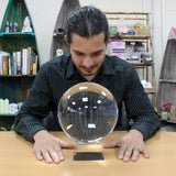 Crystal Ball on Stand 200mm