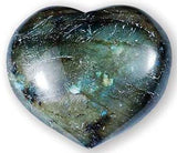 Labradorite Gemstone Heart Large