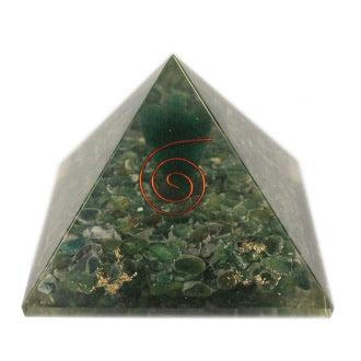 Large Orgonite Pyramid- Angel