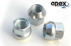 M12x1.5 - Conical, Steel Lug Nuts