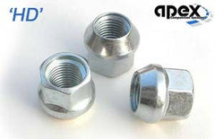 M12x1.5 - HD Conical, Steel Racing Nuts
