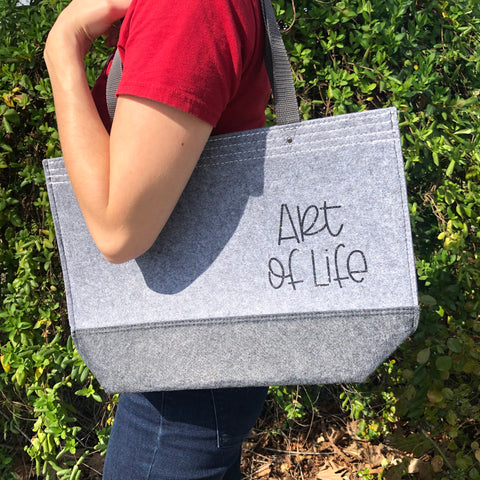 Frost Grey Tote