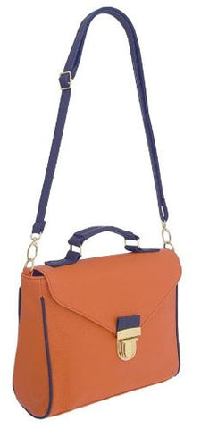 Willow Faux Leather Satchel Bag