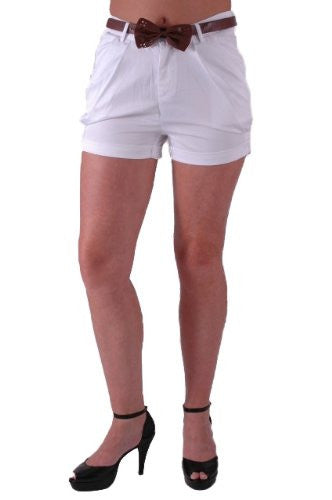 Chino Belted Shorts