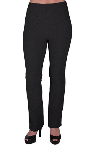 1Ribbed Bootleg Elasticated Trousers
