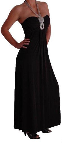 Starlet Bandeau Halter Neck Dress